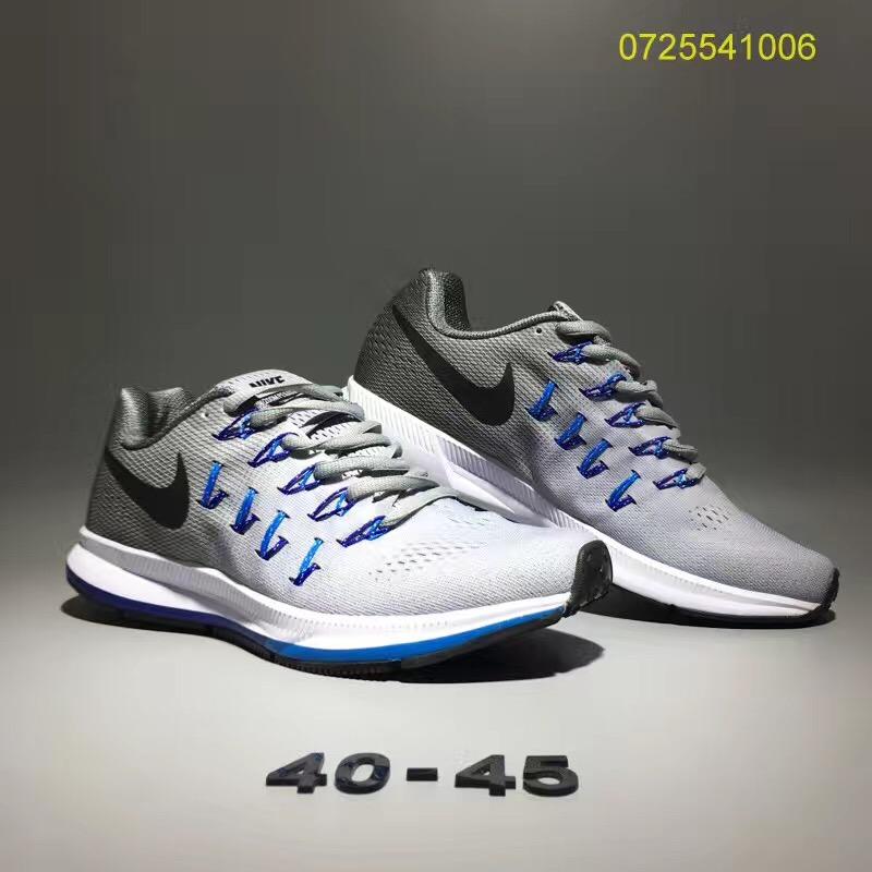 8191020f457e1 Prev Nike Air Zoom Pegasus 33 Men Running Shoes Grey Blue White. Zoom