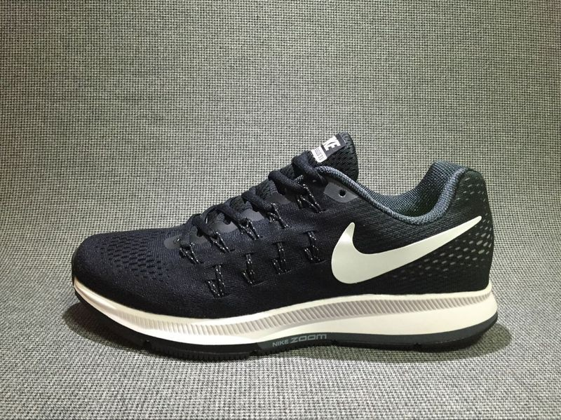 3775c8a957f1 Prev Nike Air Zoom Pegasus 33 Running Shoes Black White 831356-001. Zoom
