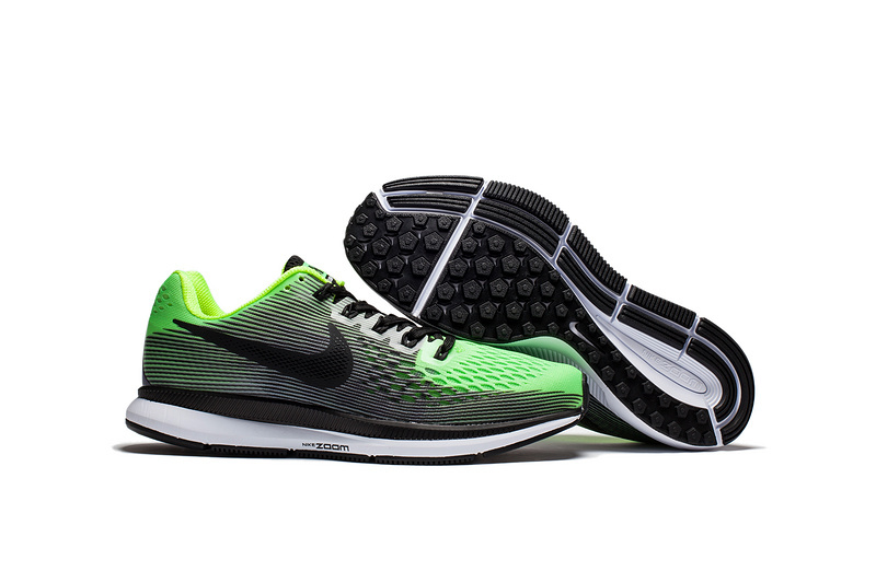 the best attitude 51cf0 c3bb0 Nike Air Zoom Pegasus 34 EM Bright Green Black White Men Running Shoes  Sneakers Trainers 880555-406 - Febbuy