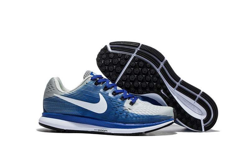 hot sale online 52d04 427d3 Prev Nike Air Zoom Pegasus 34 EM Light Blue White Men Running Shoes  Sneakers Trainers ...