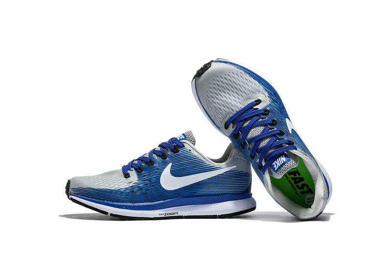 Nike Air Zoom Pegasus 34 EM Light Blue White Men Running Shoes Sneakers  Trainers 880555- bee7921e0