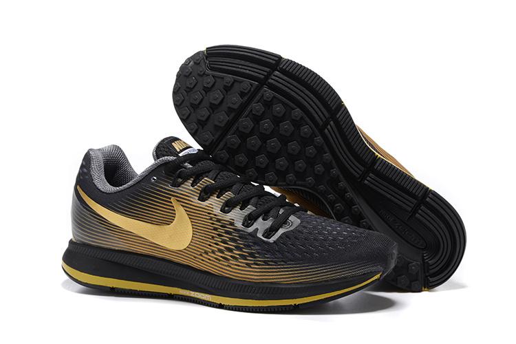 ca2a4ff6b220 Prev Nike Air Zoom Pegasus 34 EM Men Running Shoes Sneakers Trainers Black  Gold 831350-011. Zoom