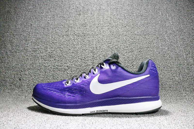 Nike Air Zoom Pegasus 34 EM Mens Purple Black Violet 887009-501 - Febbuy f57251b9d