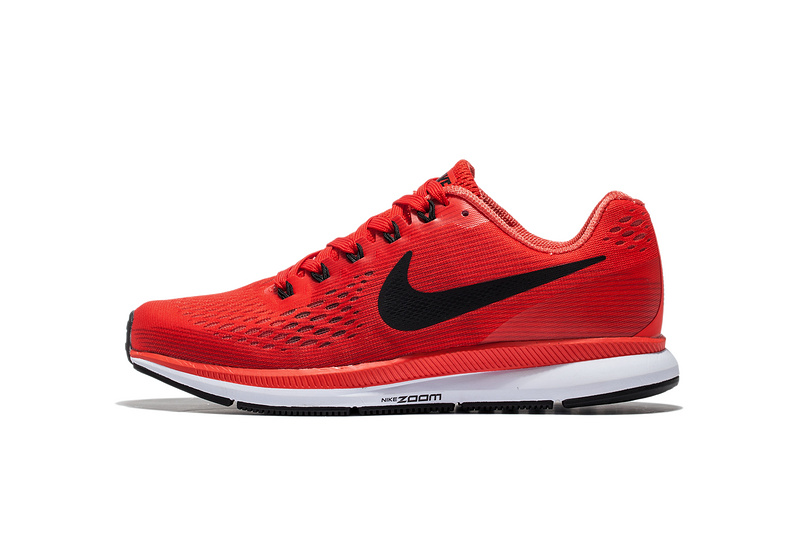 Nike Air Zoom Pegasus 34 EM Pure Red White Men Running Shoes Sneakers  Trainers 880555- ... 6763fa5e2