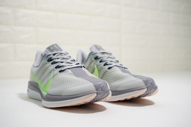 ff52b033c99a Nike Air Zoom Pegasus 35 Turbo 2 Light Grey Green AJ4115-301 - Febbuy