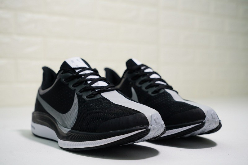 2686fbba11c4 ... Nike Zoom Pegasus 35 Turbo Running Shoes Black Grey Sneakers AJ4115-001  ...