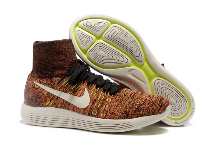 wholesale dealer 23504 d7012 ... coupon code for prev nike lunarepic flyknit running shoes sneakers black  hyper orange 818676 005.