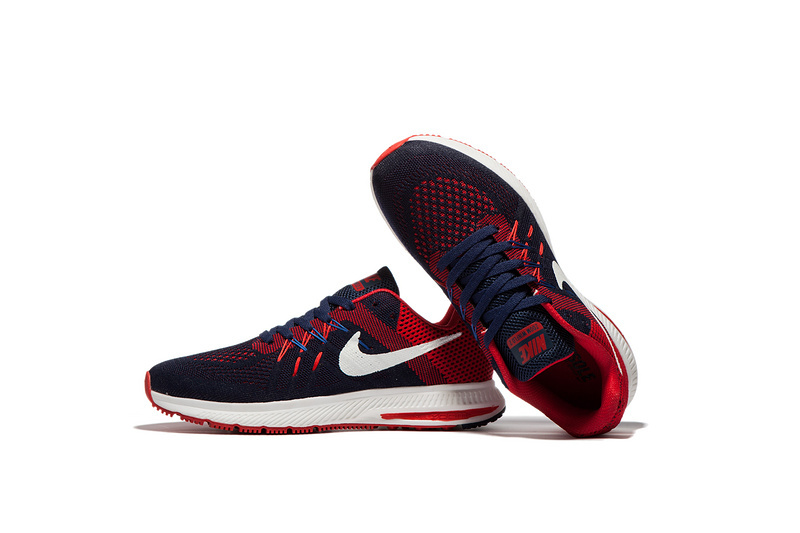 c3adc45beb68a ... Nike Zoom Winflo 2 Black Red Blue Men Running Shoes Sneakers Trainers  807276 ...