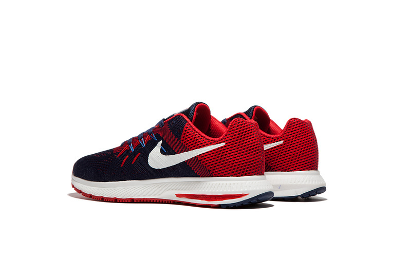 55274b9aa0f4 ... Nike Zoom Winflo 2 Black Red Blue Men Running Shoes Sneakers Trainers  807276