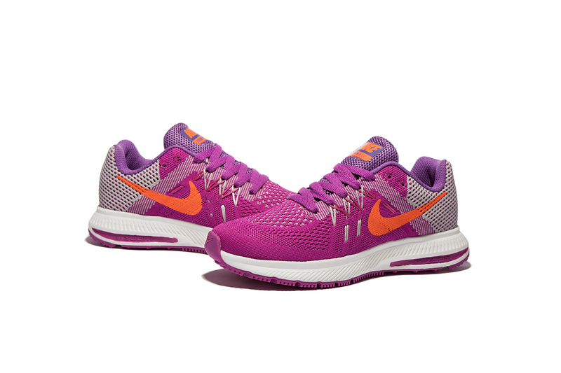 save off 4108c 77643 ... Nike Zoom Winflo 2 Peach Pink White Women Running Shoes Sneakers  Trainers ...