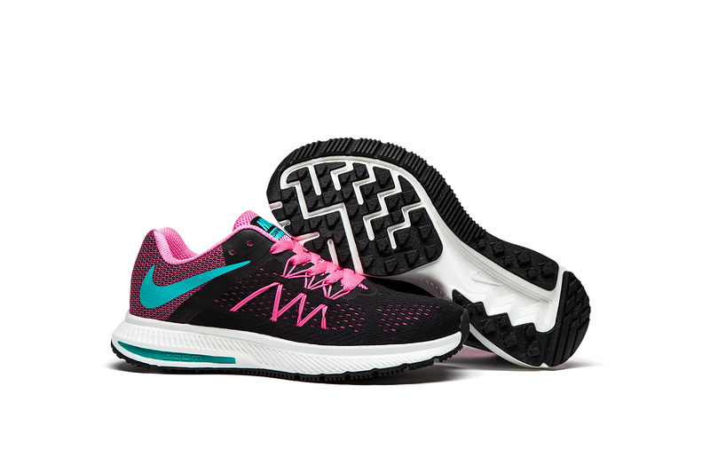 new arrivals e1552 06a8d Prev Nike Zoom Winflo 3 Black Peach Pink Women Running Shoes Sneakers  Trainers 831561. Zoom
