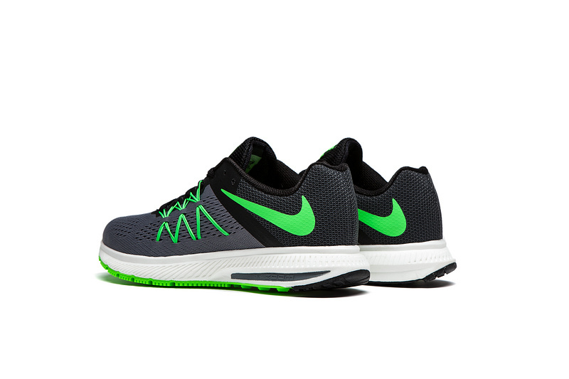competitive price 1d52a c6231 ... Nike Zoom Winflo 3 Light Green Grey Men Running Shoes Sneakers Trainers  831561-003