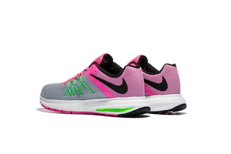 5fbac2728982 ... Nike Zoom Winflo 3 Peach Pink Grey Women Running Shoes Sneakers  Trainers 831561-003