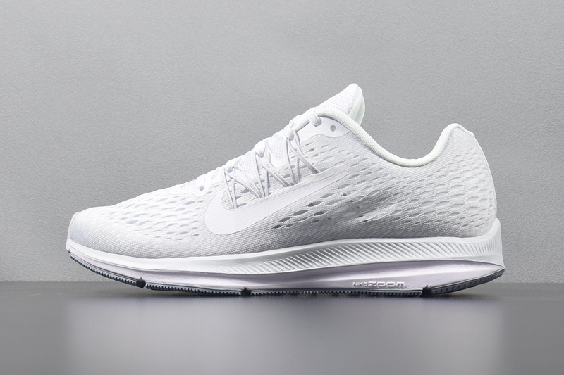 2202e0baeb0a1 Prev Nike Zoom Winflo 5 All White Mens Running Shoes AA7406-100. Zoom