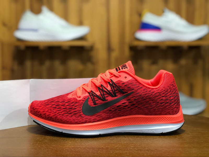 0156539ed507 Prev Nike Zoom Winflo 5 Red Black Mens Running Shoes AA7406-600. Zoom
