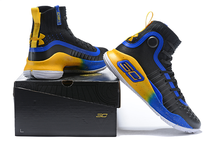 promo code 9c2a5 58ff6 ... inexpensive under armour ua curry 4 iv high men basketball shoes royal  blue yellow black hot